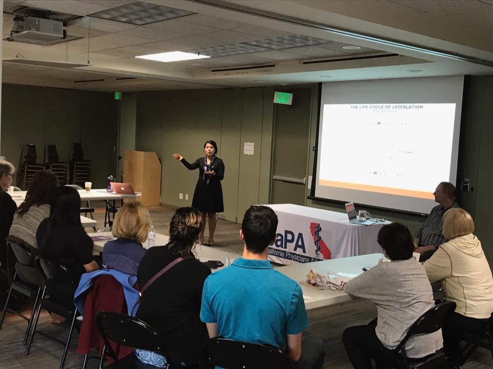Activate U. – Los Angeles: Advocacy skills training for effective legislator visits