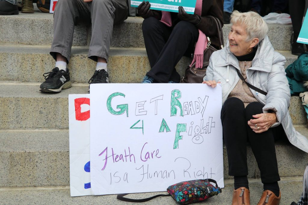 Rally for Improved Medicare for All