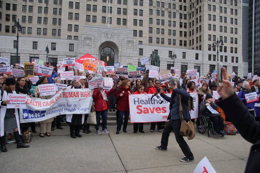 National Day of Action for Single Payer Healthcare