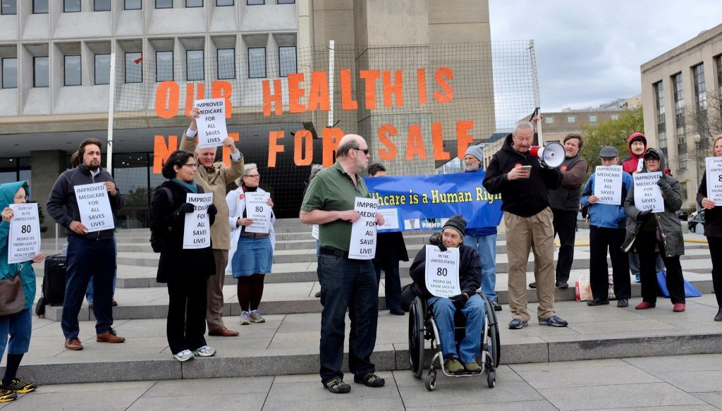 Our Health is NOT for Sale Speak Out at HHS