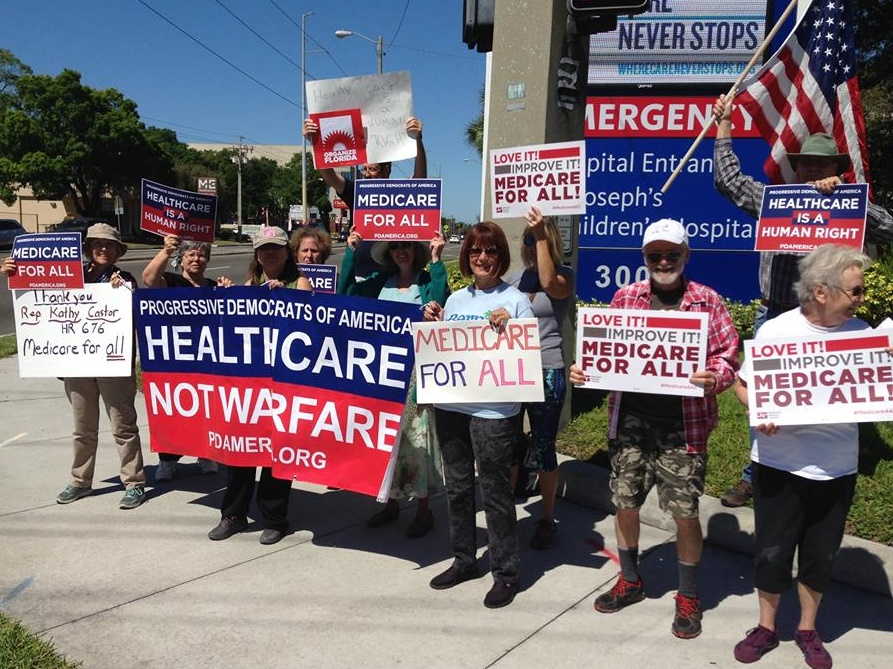 Thanks Rep. Castor – Medicare For All Event