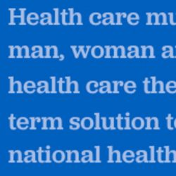Tell Us About Your Single Payer Candidate