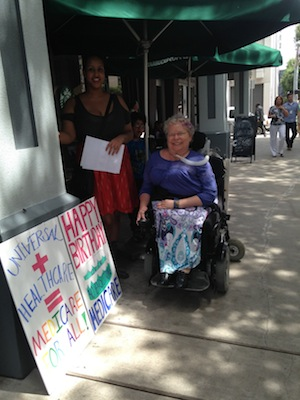 Medicare 48th Houston 7-30-13 Leeyah Rassu and Peg Nosek