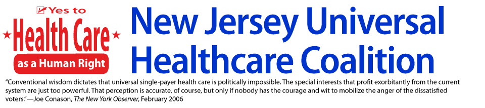 Universal Health Care New Jersey
