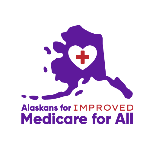 Alaskans for Improved Medicare for All Logo